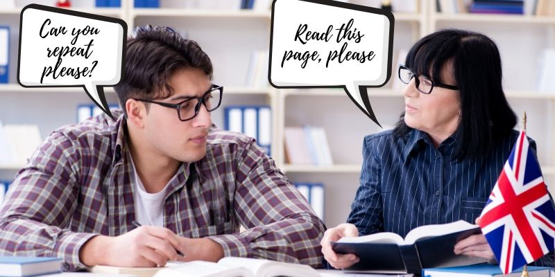 Frases control de la comunicación en inglés