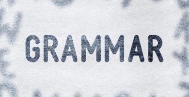 gramática inglés