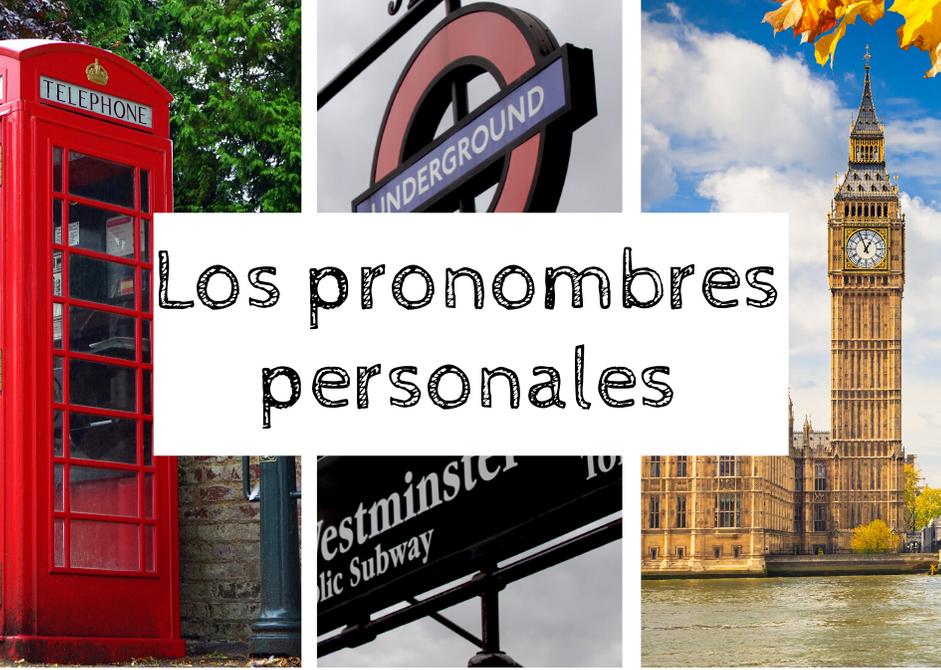 pronombres personales inglés