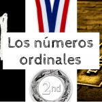 Los números ordinales en inglés