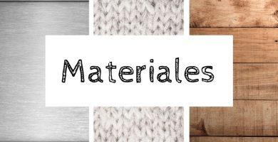 Materiales en inglés