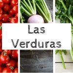 verduras inglés