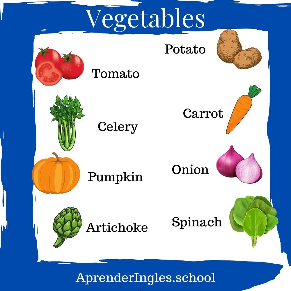 Vegetables ingles